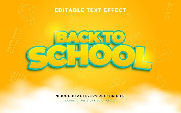 Teksteffect terug naar school