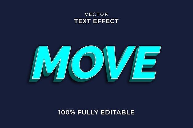 Teksteffect verplaatsen