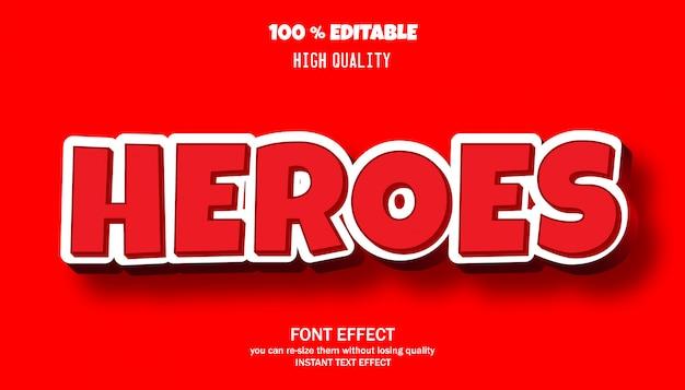 Teksteffect voor cool futuristisch effect, bewerkbaar lettertype-effect
