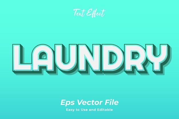Teksteffect wasserij bewerkbaar en gebruiksvriendelijk premium vector