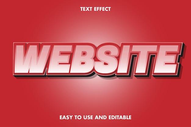 Teksteffect - website.