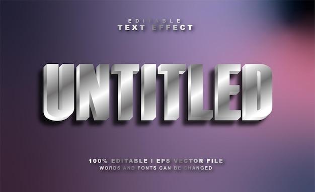 Teksteffect zonder titel gratis eps vector