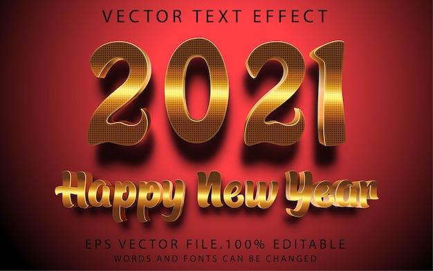 Teksteffecten gelukkig nieuwjaar