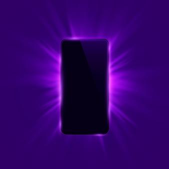 Telefoon cover kleur ontwerp moderne achtergrond. vector illustratie