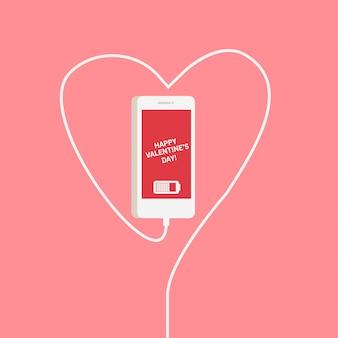 Telefoon hart