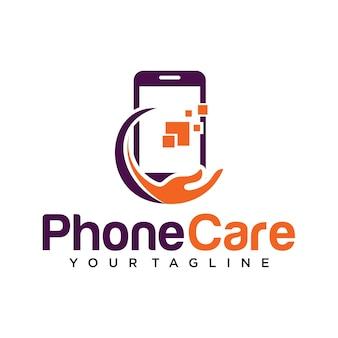 Telefoon zorg logo