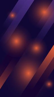 Telefoonachtergrond met vage lichten