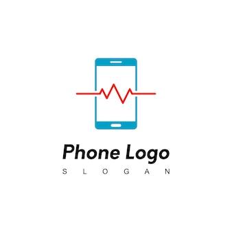 Telefoonreparatie, inspiratie voor servicelogo-ontwerp