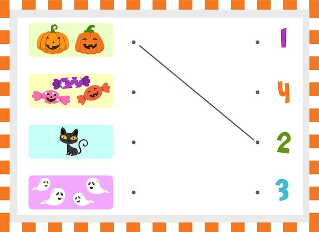 Telspel voor kinderen illustratie vector