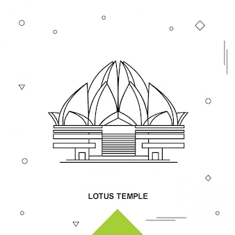 Tempel van lotus