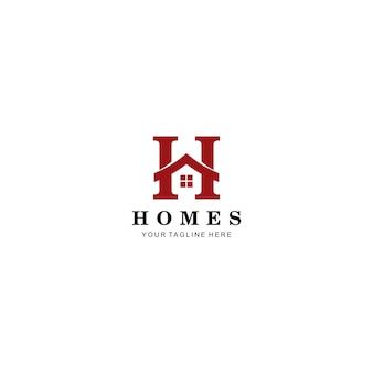 Template logo real estate