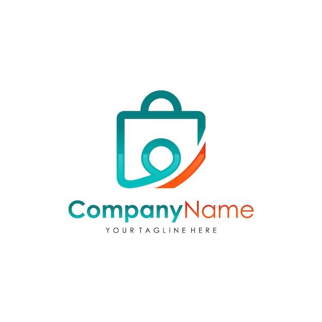 Template-logo winkel