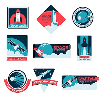 Tempo verkenning, programma en avontuur speciale missielabels