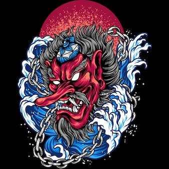 Tengu mask japan cultuur