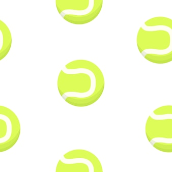 Tenis ball patroon. sport ontwerp.