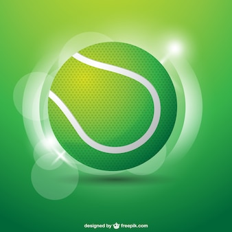 Tennis bal afbeelding