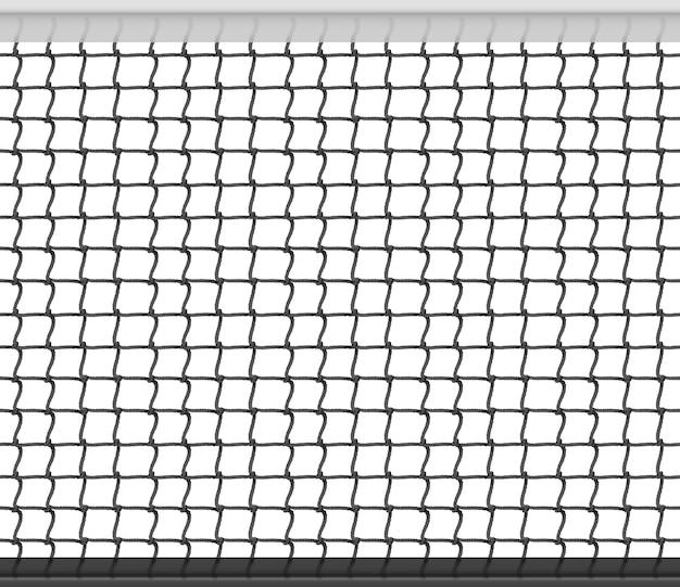 Tennis netto naadloze patroon achtergrond