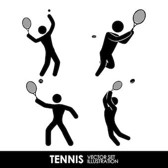 Tennis ontwerp