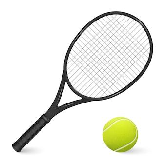 Tennisbal illustratie