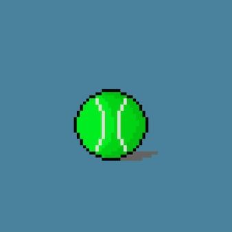 Tennisbal met pixelart-stijl