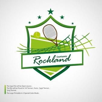Tennislogo toernooi groen