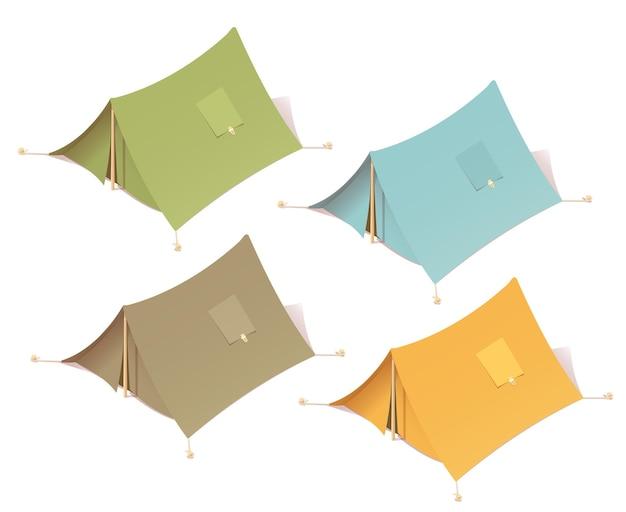 Tent kamperen in de buitenlucht