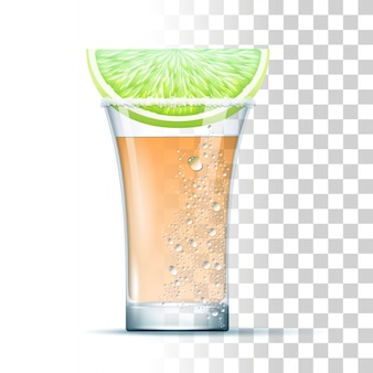 Tequila shot-cocktail
