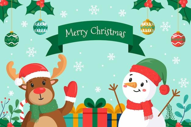 Ter beschikking getrokken kerstmisconcept