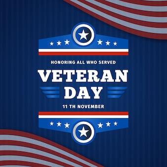 Ter ere van iedereen die platte veteranendag diende