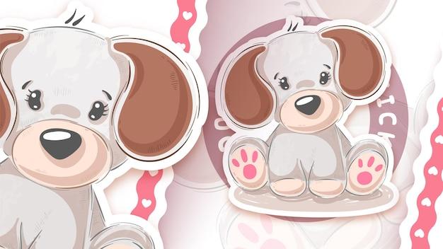 Terddy eenhoorn - idee voor je sticker