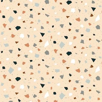 Terrazzo naadloos patroon.