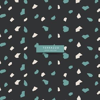 Terrazzo stijl naadloos patroon