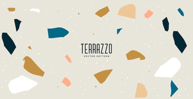 Terrazzo vloer tegels patroon textuur achtergrondontwerp