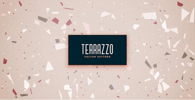 Terrazzo vloertegels naadloos patroon