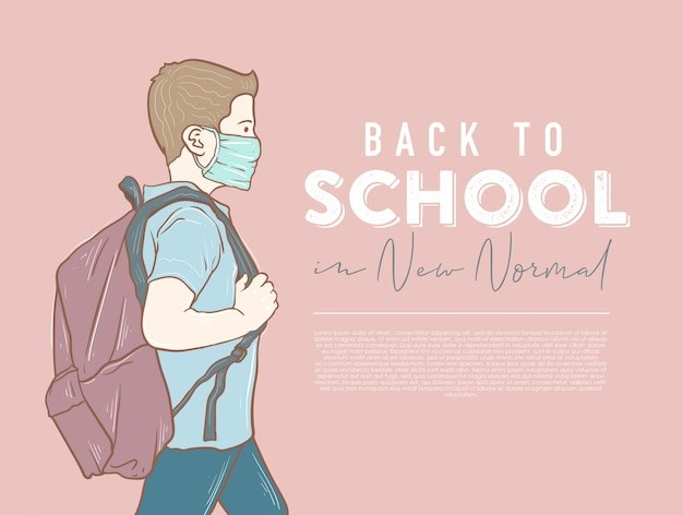 Terug naar school in een nieuw normaal