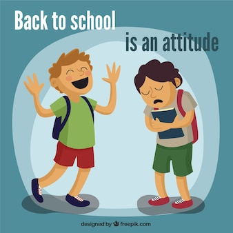 Terug naar school is een attitude