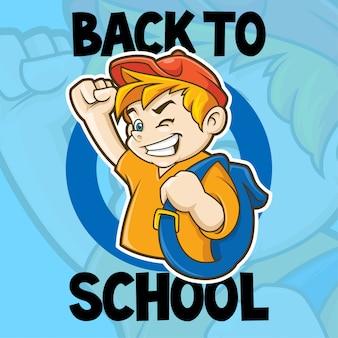 Terug naar school-logo