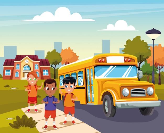 Terug naar school met geluk