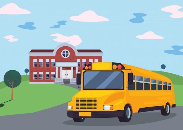 Terug naar school plat