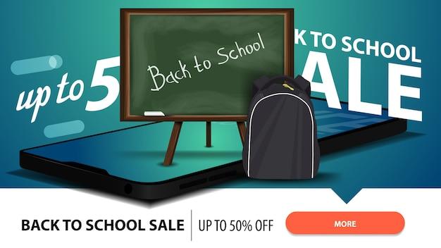 Terug naar school verkoop