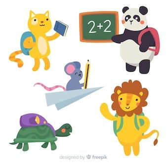Terug naar schoolcollectie dieren