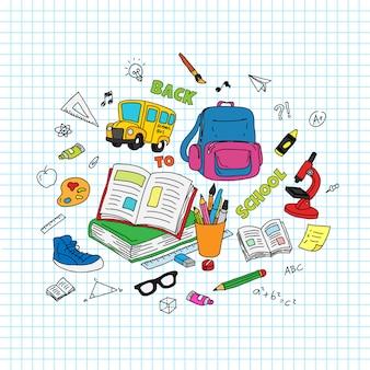 Terug naar schooltekst