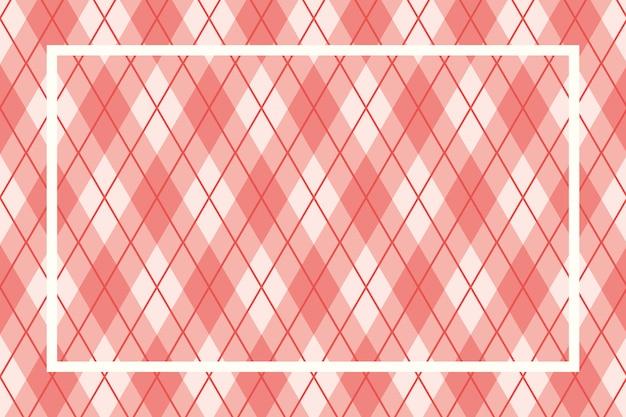 Textiel patroon frame