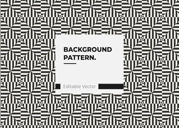 Textuur kunst patroon retro lijnstijl zwarte lijn