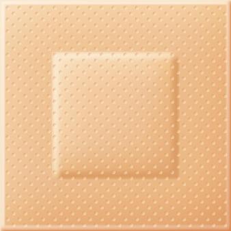Textuur van de medische patch of pleister. realistische vectorachtergrond.