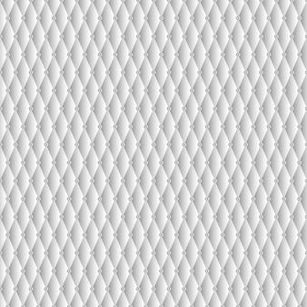 Textuur van witte bank met luxe en naadloos patroon.