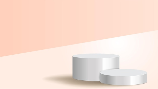 Textuurvoetstuk voor weergave voor gezichtscrème voor jaarlijkse verkoop of festivalverkoop sierlijke cosmetica