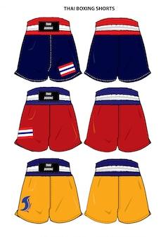 Thai boxing shorts
