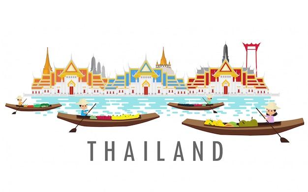 Thailand land van de glimlach.