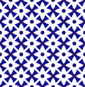 Thaise de stijl van het porselein bloemenpatroon